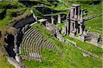 Overview of Roman Theatre Ruins, Volterra, Tuscany, Italy Stock Photo - Premium Rights-Managed, Artist: R. Ian Lloyd, Code: 700-06368139