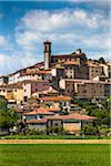 View of Town, Monterchi, Province of Arezzo, Tuscany, Italy Stock Photo - Premium Rights-Managed, Artist: R. Ian Lloyd, Code: 700-06368161