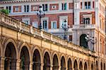 Bridge and Street Lamps, Bologna, Emilia-Romagna, Italy Stock Photo - Premium Rights-Managed, Artist: R. Ian Lloyd, Code: 700-06368180