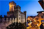 Scaliger Castle at Dusk, Sirmione, Brescia, Lombardy, Italy Stock Photo - Premium Rights-Managed, Artist: R. Ian Lloyd, Code: 700-06368187