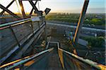 Staircase, Landschaftspark Duisburg Nord, Meiderich Huette, Duisburg, Ruhr Basin, North Rhine-Westphalia, Germany Stock Photo - Premium Rights-Managed, Artist: Raimund Linke, Code: 700-06368431