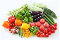 paprika - Group of summer vegetables Stock Photo - Premium Royalty-Freenull, Code: 622-06369928