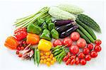 Group of summer vegetables Stock Photo - Premium Royalty-Free, Artist: Photocuisine, Code: 622-06369928