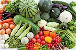 Group of vegetables Stock Photo - Premium Royalty-Free, Artist: Photocuisine, Code: 622-06369934