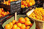 Organic Tangerines and Oranges at a Farmers Market Stock Photo - Premium Royalty-Free, Artist: AWL Images, Code: 659-06372321