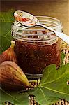 Fig and orange marmalade Stock Photo - Premium Royalty-Freenull, Code: 659-06372522
