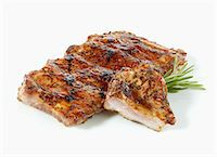 rib - Marinated spare ribs Stock Photo - Premium Royalty-Freenull, Code: 659-06372574