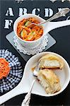 Moroccan carrot salad with sheep's cheese pockets Stock Photo - Premium Royalty-Free, Artist: Daryl Benson, Code: 659-06373515
