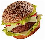 Cheeseburger Stock Photo - Premium Royalty-Free, Artist: Photocuisine, Code: 659-06373851