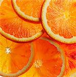Slices of orange Stock Photo - Premium Royalty-Free, Artist: Alberto Biscaro, Code: 659-06373854