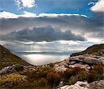 View of False Bay, Muizenberg Peak, Silvermine, Table Mountain National Park, Cape Town, Western Cape, South Africa Stock Photo - Premium Royalty-Free, Artist: Albert Normandin, Code: 682-06374056