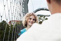 preteen girl boyfriends - Girl and Boy Talking in Playground, Mannheim, Baden-Wurttemberg, Germany Stock Photo - Premium Royalty-Freenull, Code: 600-06382876