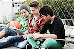 Boys, Mannheim, Baden-Wurttemberg, Germany Stock Photo - Premium Royalty-Free, Artist: Uwe Umsttter, Code: 600-06382908