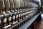 Industrial Wool Spinning Machine, Ontario, Canada Stock Photo - Premium Royalty-Free, Artist: Yvonne Duivenvoorden, Code: 600-06383000