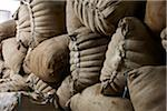 Sacks of Sheep Wool, Ontario, Canada Stock Photo - Premium Royalty-Free, Artist: Yvonne Duivenvoorden, Code: 600-06383004