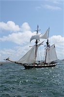 ships at sea - Tall Ship, Brest, Finistere, Bretagne, France Stock Photo - Premium Rights-Managednull, Code: 700-06383065