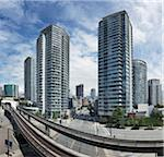 Skytrain Tracks, Vancouver, British Columbia, Canada Stock Photo - Premium Rights-Managed, Artist: Ron Fehling, Code: 700-06383813
