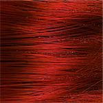 Detail of red hair texture Stock Photo - Royalty-Free, Artist: carloscastilla                , Code: 400-06384143
