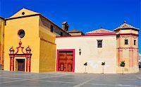 puentes - view of Santo Domingo de Guzman Church in Malaga, Spain Stock Photo - Royalty-Freenull, Code: 400-06389705