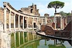 Ruins of Villa Adriana near Rome, Italy Stock Photo - Royalty-Free, Artist: alessandro0770                , Code: 400-06390217