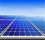 Renewable, alternative solar energy, sun-power plant Stock Photo - Royalty-Free, Artist: ssuaphoto                     , Code: 400-06390327