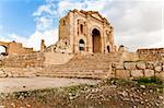 ancient city of jerash jordan Stock Photo - Royalty-Free, Artist: takepicsforfun                , Code: 400-06390626