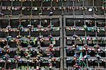 Wall of closed locks - love declarations in Verona Stock Photo - Royalty-Free, Artist: Flik47                        , Code: 400-06391665