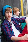 Portrait of Boys Outdoors, Mannheim, Baden-Wurttemberg, Germany Stock Photo - Premium Royalty-Free, Artist: Uwe Umstätter, Code: 600-06397437