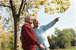 Senior Men Outdoors in Autumn, Lampertheim, Hesse, Germany Stock Photo - Premium Royalty-Free, Artist: Uwe Umsttter, Code: 600-06397475