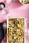 Casserole with Pasta, Artichoke and Spinach Stock Photo - Premium Royalty-Free, Artist: Jodi Pudge, Code: 600-06397642