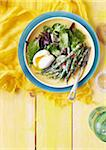 Overhead View of Nicoise Salad Stock Photo - Premium Royalty-Free, Artist: Jodi Pudge, Code: 600-06397659