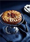 Apple Walnut Cake on Cake Stand Stock Photo - Premium Royalty-Free, Artist: Jodi Pudge, Code: 600-06397685