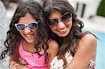 Mother and daughter wearing sunglasses Stock Photo - Premium Royalty-Free, Artist: Andrew Kolb, Code: 649-06401399