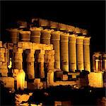 Temple of Luxor at night,  Luxor, Egypt Stock Photo - Premium Royalty-Free, Artist: AWL Images, Code: 6106-06402318