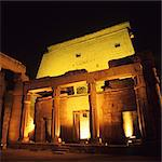 Temple of Luxor illuminated at night, Luxor, Egypt Stock Photo - Premium Royalty-Free, Artist: AWL Images, Code: 6106-06402319