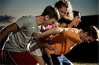 female playing soccer - Friends playing soccer at night Stock Photo - Premium Royalty-Freenull, Code: 614-06402573