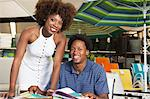 Young African American couple buying Outdoor furniture at Store Stock Photo - Premium Royalty-Free, Artist: Cultura RM, Code: 693-06403161