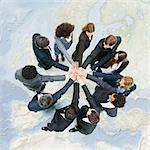 Camaraderie between business associates fosters productive teamwork Stock Photo - Premium Royalty-Free, Artist: Blend Images, Code: 632-06404659