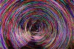 Vortex of colored lights Stock Photo - Premium Royalty-Free, Artist: Minden Pictures, Code: 618-06406182