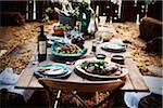 Dining Table Set in Barn Stock Photo - Premium Rights-Managed, Artist: Yvonne Duivenvoorden, Code: 700-06406829