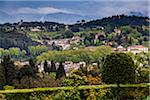 Scenic View of Buildings in Hills around Florence, Province of Florence, Tuscany, Italy Stock Photo - Premium Rights-Managed, Artist: R. Ian Lloyd, Code: 700-06407775