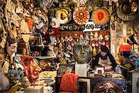 Mask Maker in Shop, Florence, Tuscany, Italy Stock Photo - Premium Rights-Managednull, Code: 700-06407782
