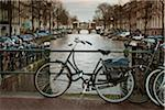 Bikes Parked by Canal, Amsterdam, Netherlands Stock Photo - Premium Royalty-Free, Artist: Matt Brasier, Code: 600-06407897