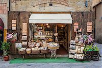 supermarket not people - Exterior of Shop, Arezzo, Province of Arezzo, Tuscany, Italy Stock Photo - Premium Rights-Managednull, Code: 700-06407800