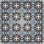 Metal netting texture beautiful pattern, seamless vector background. Stock Photo - Royalty-Free, Artist: Sylverarts                    , Code: 400-06409710