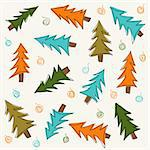 Christmas tree Stock Photo - Royalty-Free, Artist: lemony                        , Code: 400-06410999
