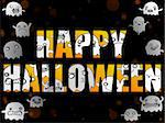 Vector - Halloween Letters with Ghosts Stock Photo - Royalty-Free, Artist: gubh83                        , Code: 400-06413316