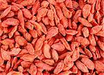 texture of a bunch of red goji berries Stock Photo - Royalty-Free, Artist: taviphoto                     , Code: 400-06421005
