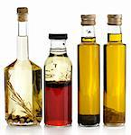 Assortment Of Cooking Oil With Spices