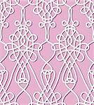 Flower seamless background. Vintage floral keltik Irish wallpaper. Texture vector illustration. Pattern celtic style. Stock Photo - Royalty-Free, Artist: svetap                        , Code: 400-06423513